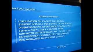 Problème PS3 Mise à jour