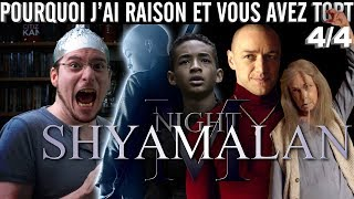 PJREVAT - M. Night Shyamalan : Le Dernier Maitre De L'Air/After Earth/The Visit/Split (4/4)