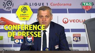 Conférence de presse Olympique Lyonnais - SM Caen ( 4-0 ) / 2018-19