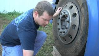 The steer tire that blew out 2 miles from home!