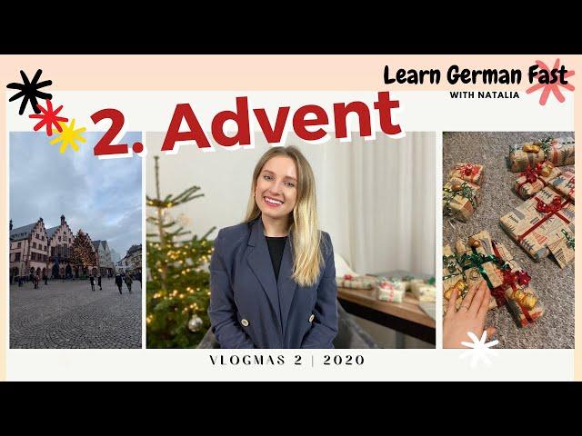 Vlogmas 2 - Deutsche Traditionen an Weihnachten 🎄 German Christmas traditions 🎄🥳