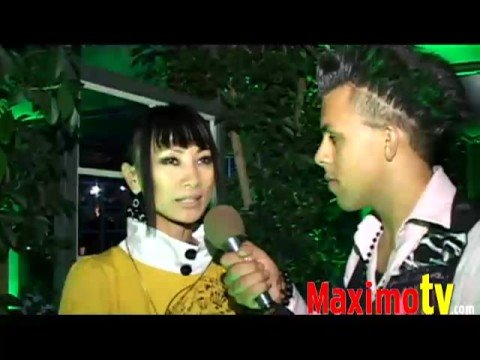BAI LING Interview at 2008 MTV VMA Pre-Party at Blvd 3