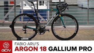 Fabio Aru's Argon 18 Gallium Pro thumbnail