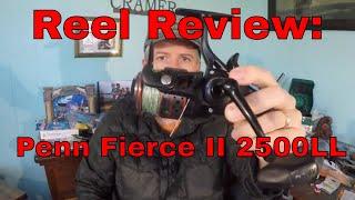 Reel Review: Penn Fierce II 2500 Live Liner/Bait Runner