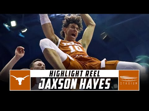 Jaxson Hayes Texas Basketball Highlights - 2018-19 Season | Stadium