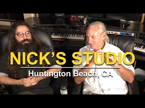 Nick's Studio Huntington Beach, CA. USA - Www.AcousticFields.com