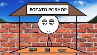When Poor Gamer Opens A Pc Shop