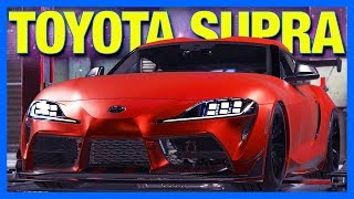 Subscribers Rebuild a Toyota Supra in Car Mechanic Simulator
