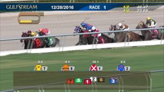 Gulfstream Park Race 1 | December 28, 2016
