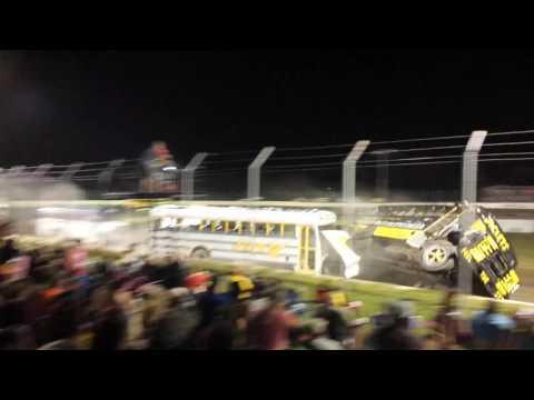 School bus races - Fredonia/Altoona bus crash