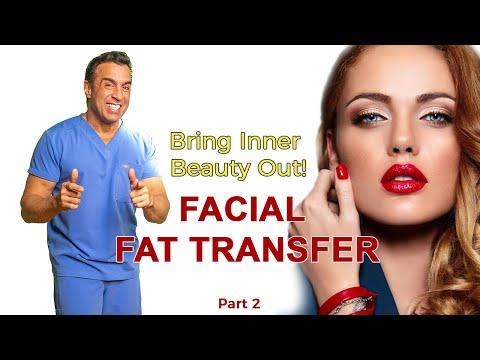 Facial Fat Transfer Surgery Part 2