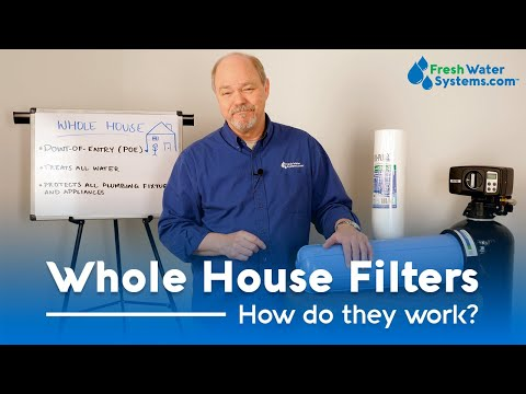 What Is A Whole House Water Filter And What Does It Do?