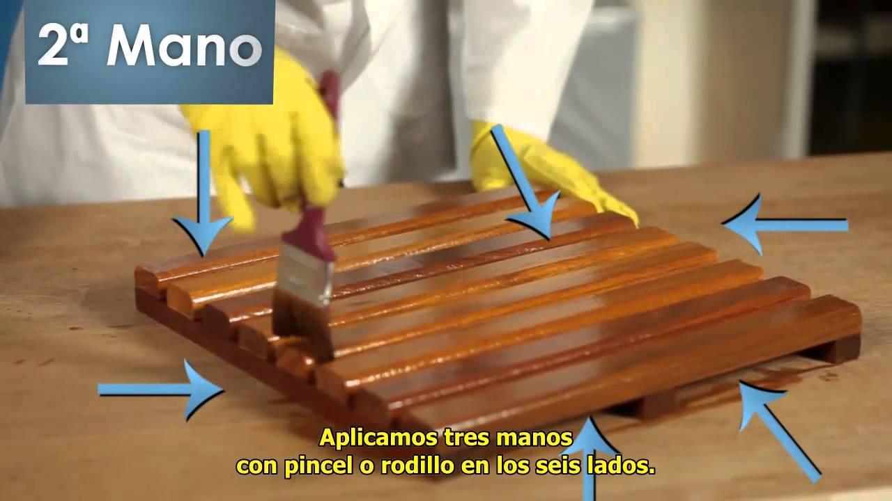 Polideck barniz para deck youtube - Tipos de barniz para madera exterior ...