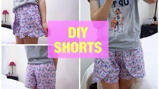 DIY SHORTS | Как сшить юбку-шорты(, 2016-01-13T13:07:41.000Z)