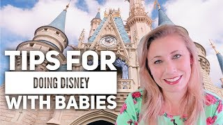 Top 5 Tips for Going to Disney World With Babies | Disney World Travel Tips | Entirely Kristen