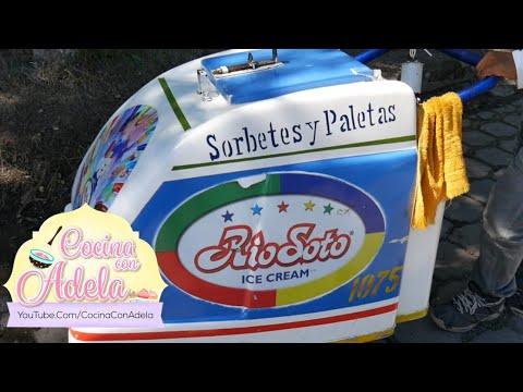 Comprando Paletas y helados a mis niños en El Salvador