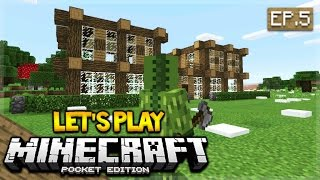 lets play minecraft pocket edition 0170 we actually found them episode 5 pocket edition