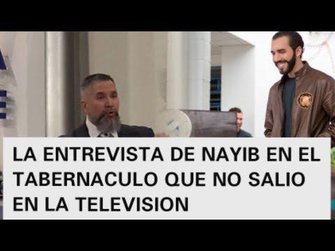 NAYIB EN EL TABERNACULO BIBLICO ENTREVISTA CON TOBY