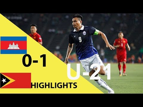 Cambodia vs Timor Leste U21 0-1 All Goals & Highlights Extended King Brunei Cup 05/05/2018