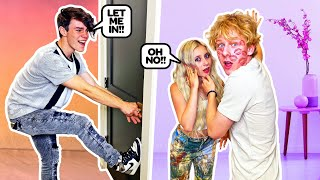 CHEATING WITH THE DOOR LOCKED PRANK ON BOYFRIEND!! **gone wrong**