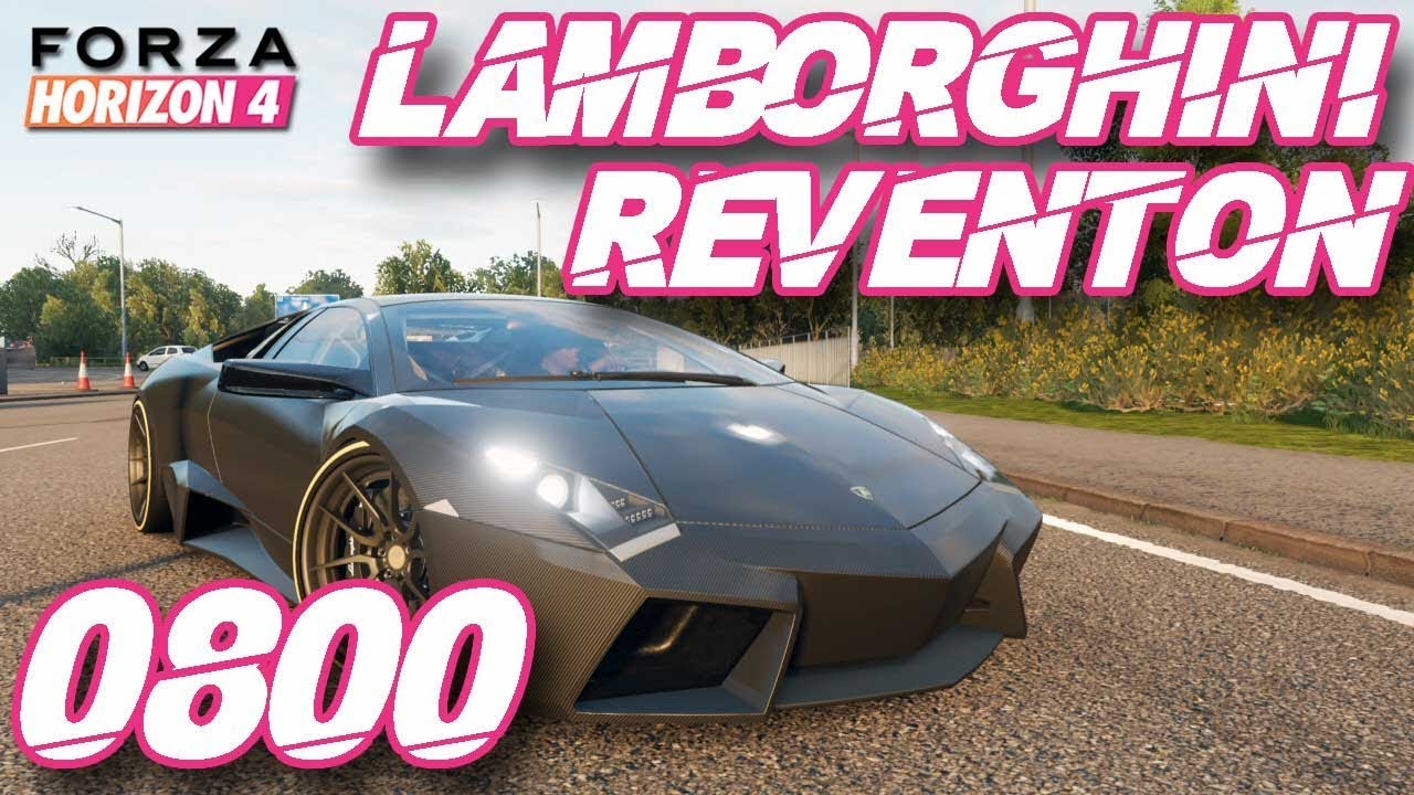 Forza Horizon 4 Carro De Graca Lamborghini Reventon Forza Edition