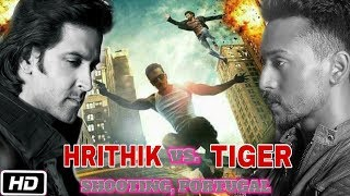 Hrithik vs Tiger Movie Shooting | Car and Bike Chasing in Lisbon, Portugal