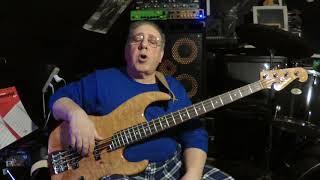 Seymour Duncan quarter pound Jazz bass pickups.