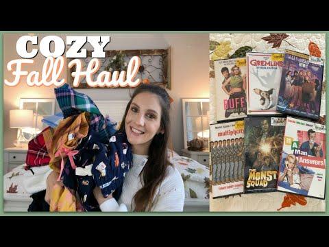 A COZY FALL HAUL | FALL PAJAMAS & MOVIES | 2019