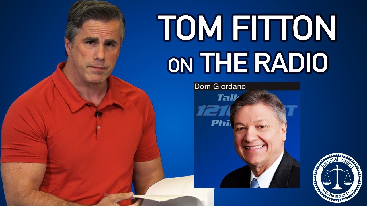"1:15 PM.       Tom Fitton: Mail-In Voting Can Be a ""Recipe for CHAOS"" on Election Day!"