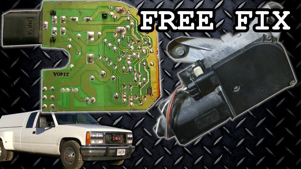 small resolution of gm wiper motor problem fix free repair