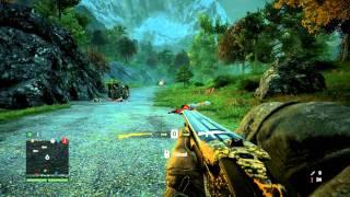 Far Cry 4 - Elephant Gun vs. Rhinos