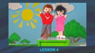 Английский Для Детей. УРОК 4. Повторяем слова из 1-3 Уроков и учим новые.