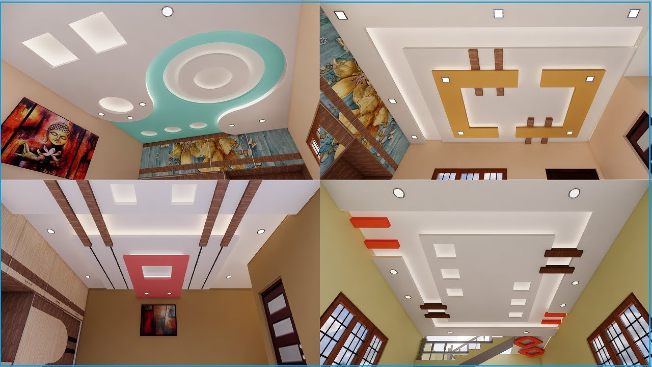 Latest False Ceiling Designs For Hall And Bedrooms Gypsum Ceiling Designs Vinupinteriorhomes