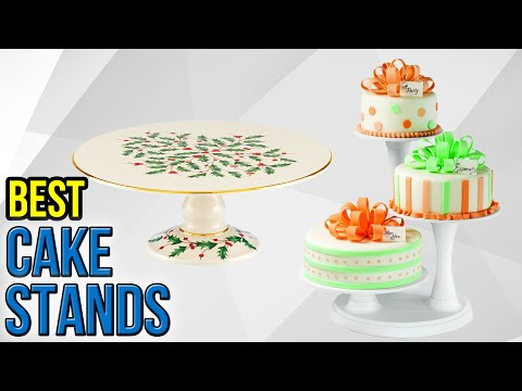 10 Best Cake Stands 2017