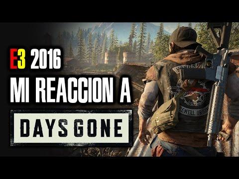 E3 2016 | Mi REACCIÓN a DAYS GONE, nueva IP con zombis en mundo apocalíptico. ¡Pintaza! [Gameplay]