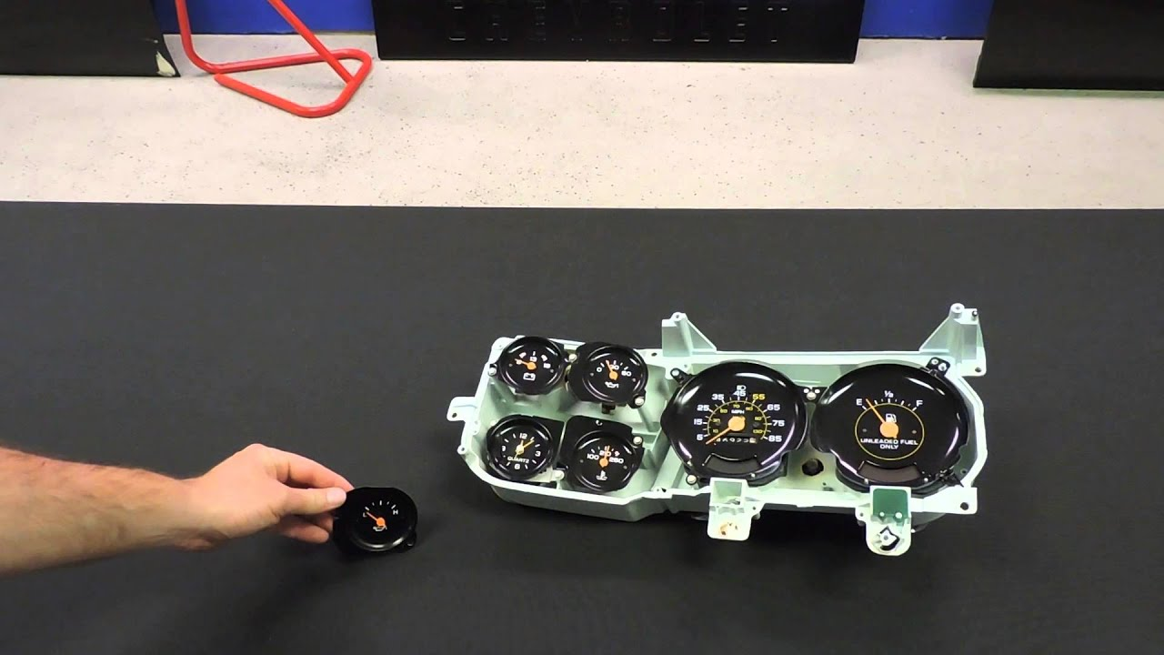 maxresdefault 1978 87 chevy truck oil pressure gauge youtube  at bayanpartner.co