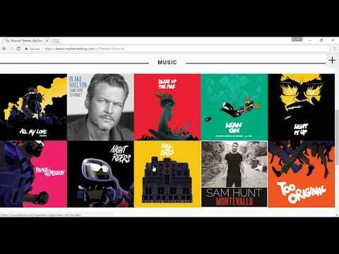 Free WordPress Theme For Music Website