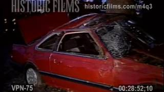 AUTO ACCIDENT, INJURIES HENRY HUDSON PARKWAY, MANHATTAN - 1988