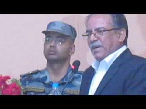 Prachanda speech  on Maoist Unity Declaration Program .