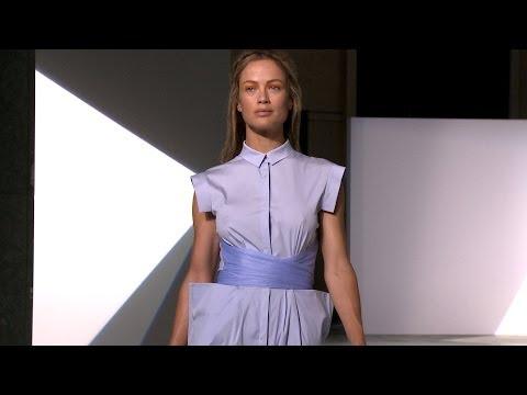 Vionnet Spring 2014 -- Paris Fashion Week -- Interviews & Runway