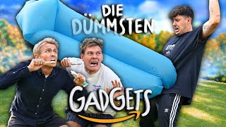DIE DÜMMSTEN AMAZON GADGETS im TEST mit @CrispyRob & @Dima | Joey's Jungle