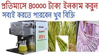 Sugarcane Juice Business Plan   Small Business Idea   Business Ideas In Bengoli