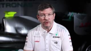 F1 2012 - Mercedes AMG - The Mercedes SLS AMG safety car