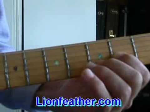 First Cut Is The Deepest Guitar Lesson Youtube