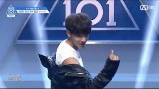 [Produce101] [Vietsub] Kim Samuel - chàng trai đầu tiên vào lớp A - EP1 CUT
