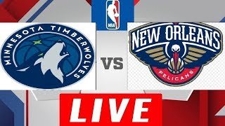 Minnesota Timberwolves vs New Orleans Pelicans Full Game HD - NBA 2018-19