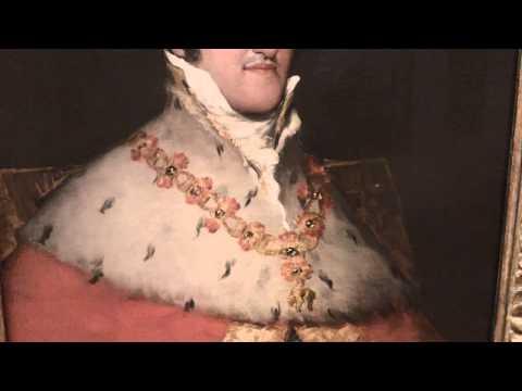 King Fernando VII of Spain 1814/15 Francisco de Goya 1746-1828 Thyssen-Bornemisza Museum Madrid