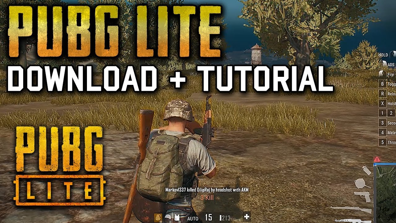 PUBG LITE - DOWNLOAD AND TUTORIAL (All Regions)