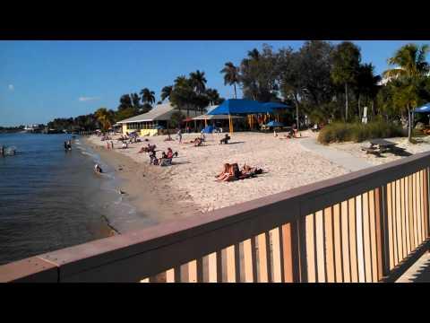 Beautiful Cape Coral Beach in FL