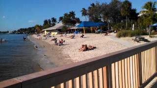 Beautiful Cape Coral Beach in FL